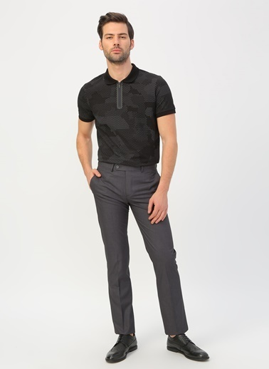 Fabrika Comfort Klasik Pantolon Antrasit